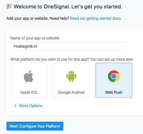 OneSignal Web Push